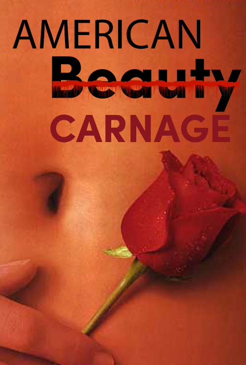 American Beauty spoof poster.