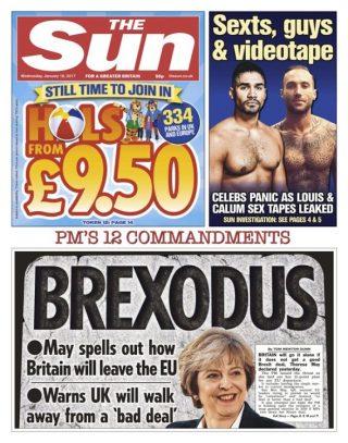 The Sun Brexodus