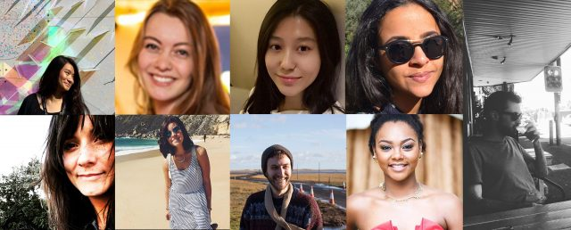 Young people from around the world