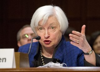 Janet Yellen Chair of Fed Board of Governers