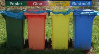German bins.