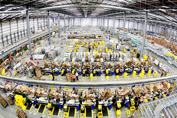 Amazon - fulfilment centre - Hemel Hempstead