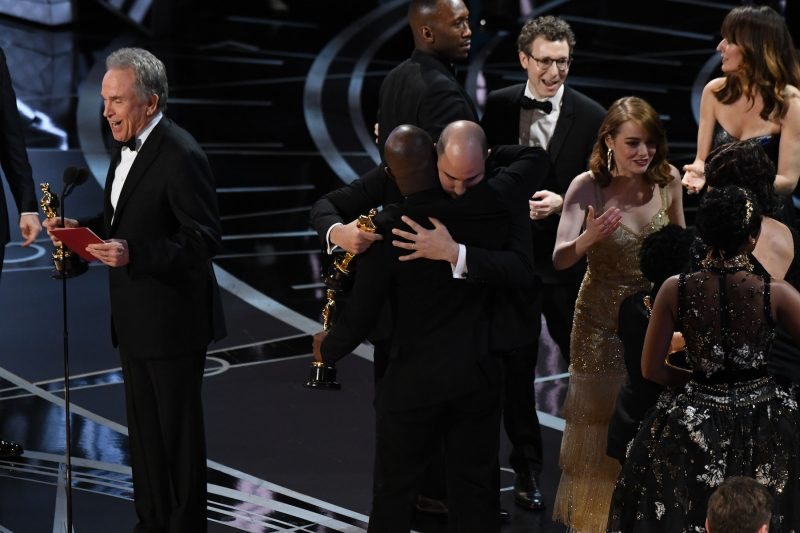 Oscars - Moonlight wins best picture