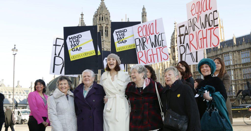 Gender pay gap demonstration