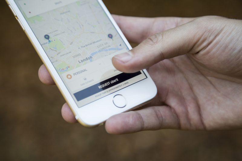 Uber–app