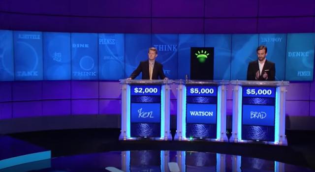 Robots - Watson winning jeopardy