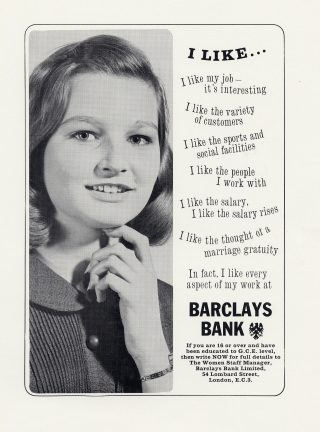 164 Barclays Ads: I Like My Job
