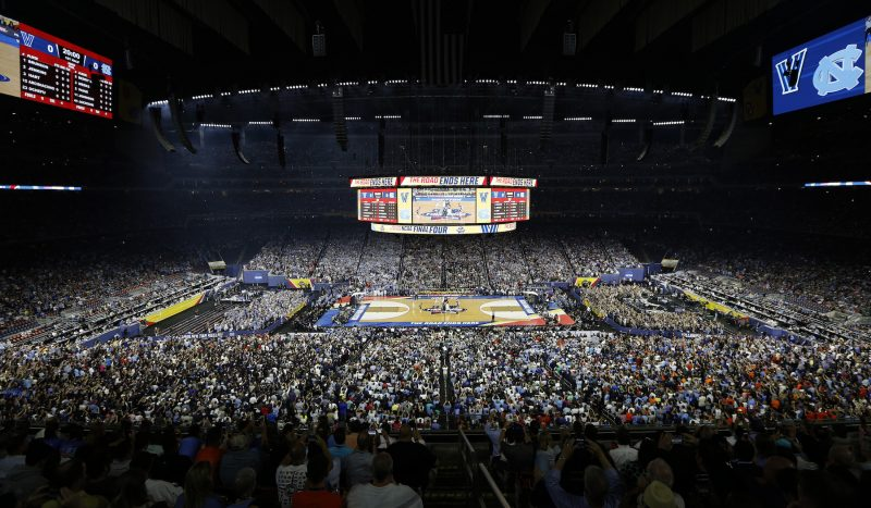 College basketball – full stadium
