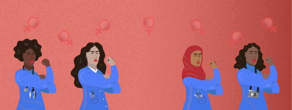 Explores Women Illustration Erin Aniker