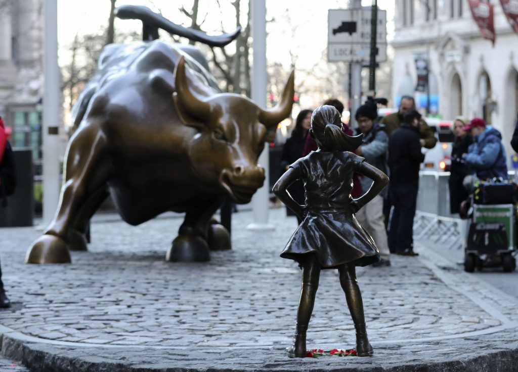 Fearless Girl Statue, New York