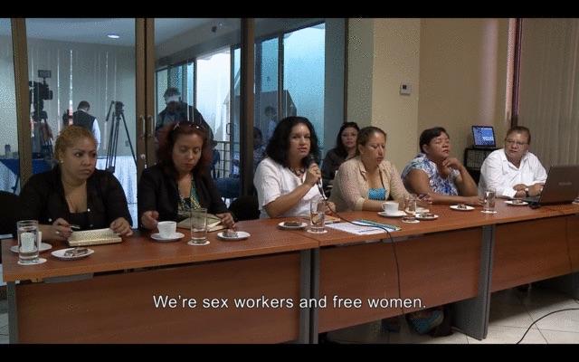 Sex workers in Nicaragua