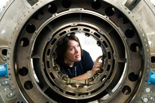 Portraits of female engineers for WES