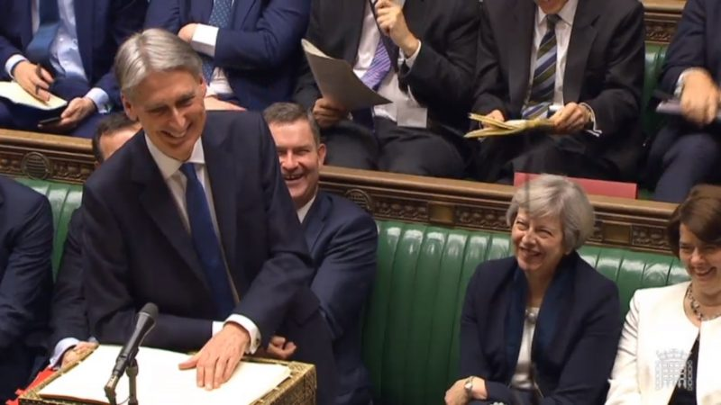 Philip Hammond makind budget 2017 speech