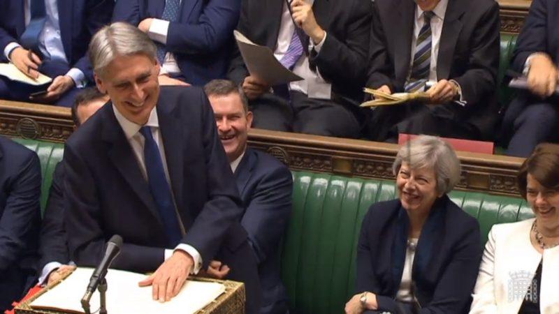 Philip Hammond makind budget 2017 speech