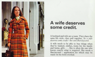 A Wife Deserves Some Credit Barclays Poster
