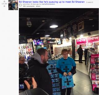 Reddit - Ed Sheeran