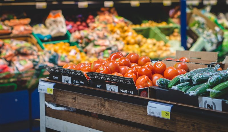 Inflation – grocery store