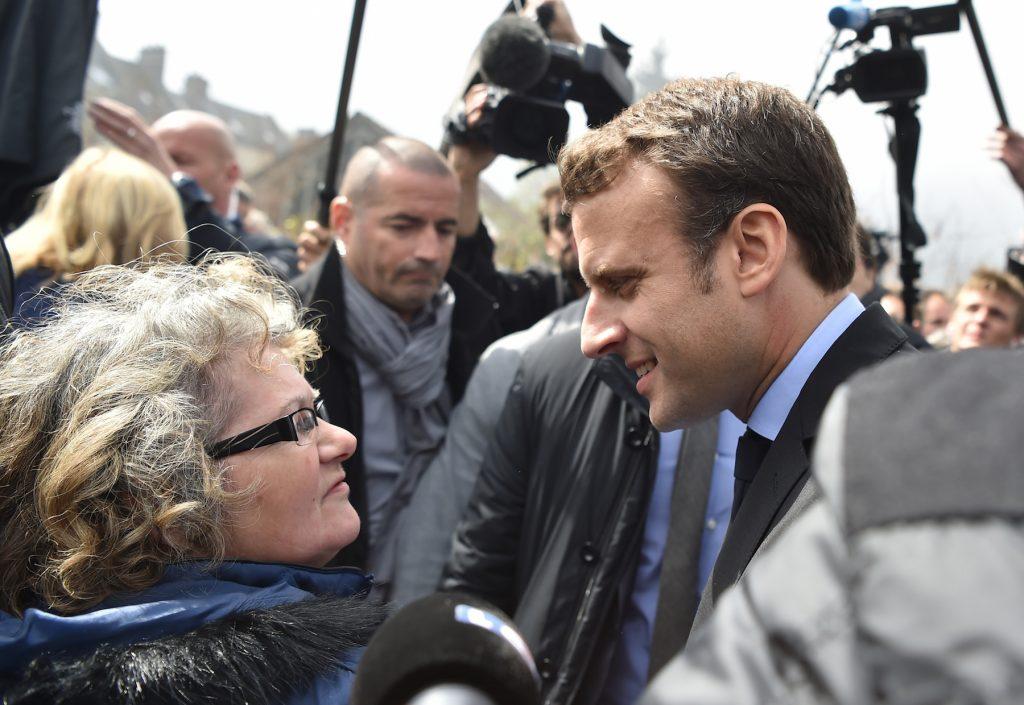 Emmanuel Macron Visits Whirlpool Workers - AmiensEmmanuel Macron Visits Whirlpool Workers - Amiens