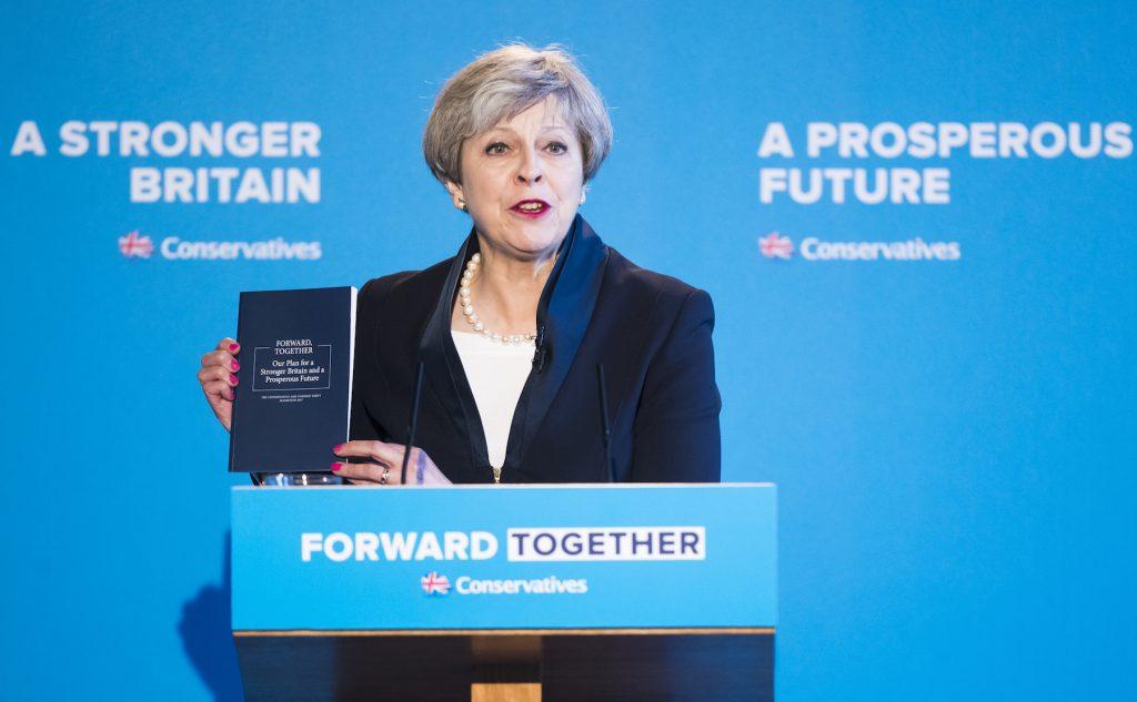 Conservative Manifesto Theresa May 2017