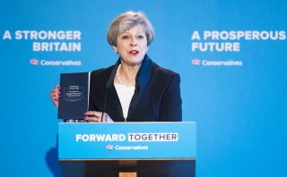 Conservative Manifesto Theresa May 2017