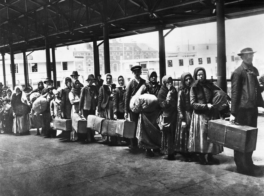 Ellis Island, NY.