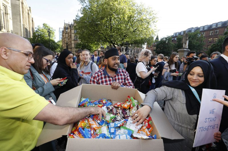 People helping people in Manchester