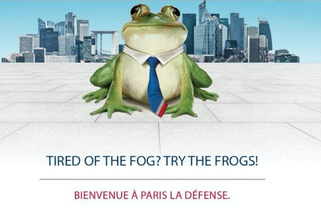 Tired of the Fog? Try the Frogs