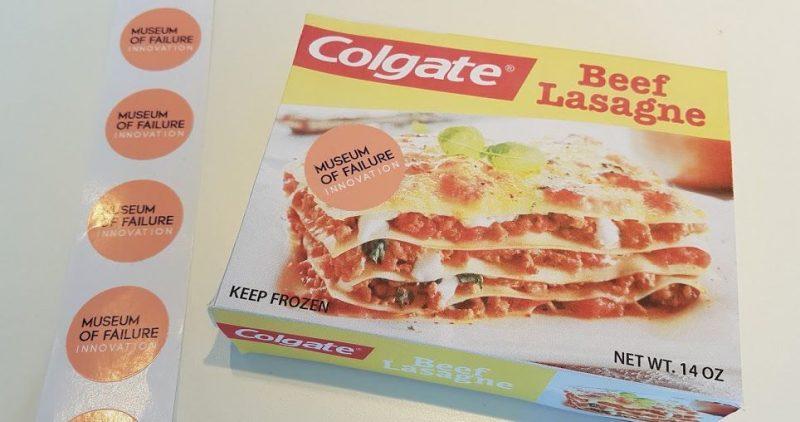 Colgate Frozen Lasagna