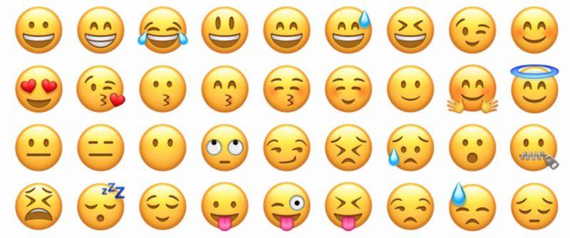 Emojis - emotion report