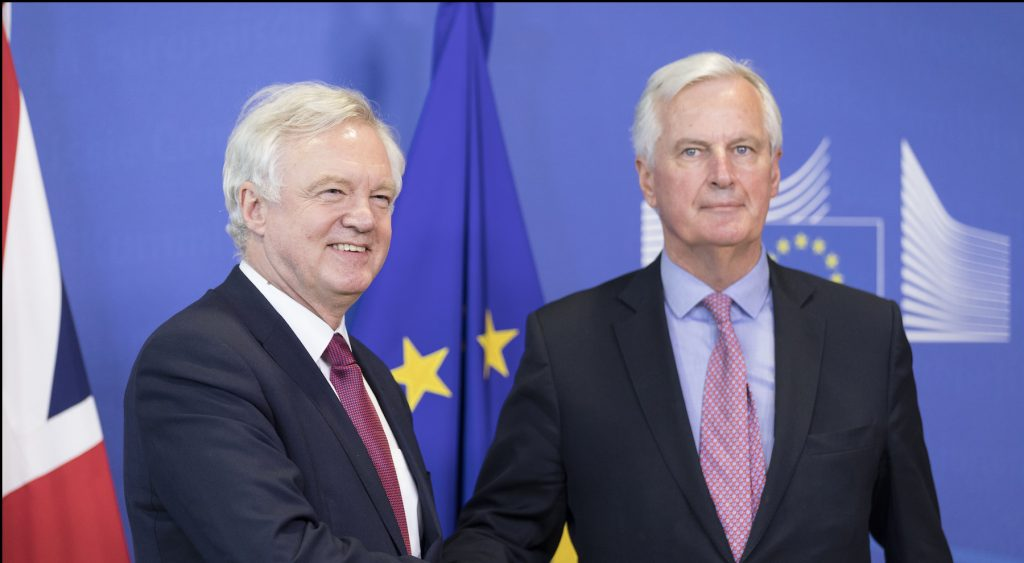 Start of Brexit negotiations - Brussels