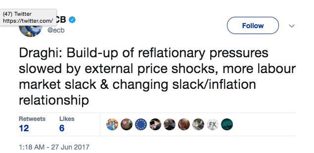 ECB Tweets