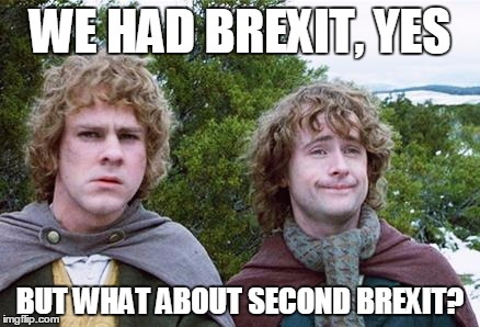 Second Brexit Meme