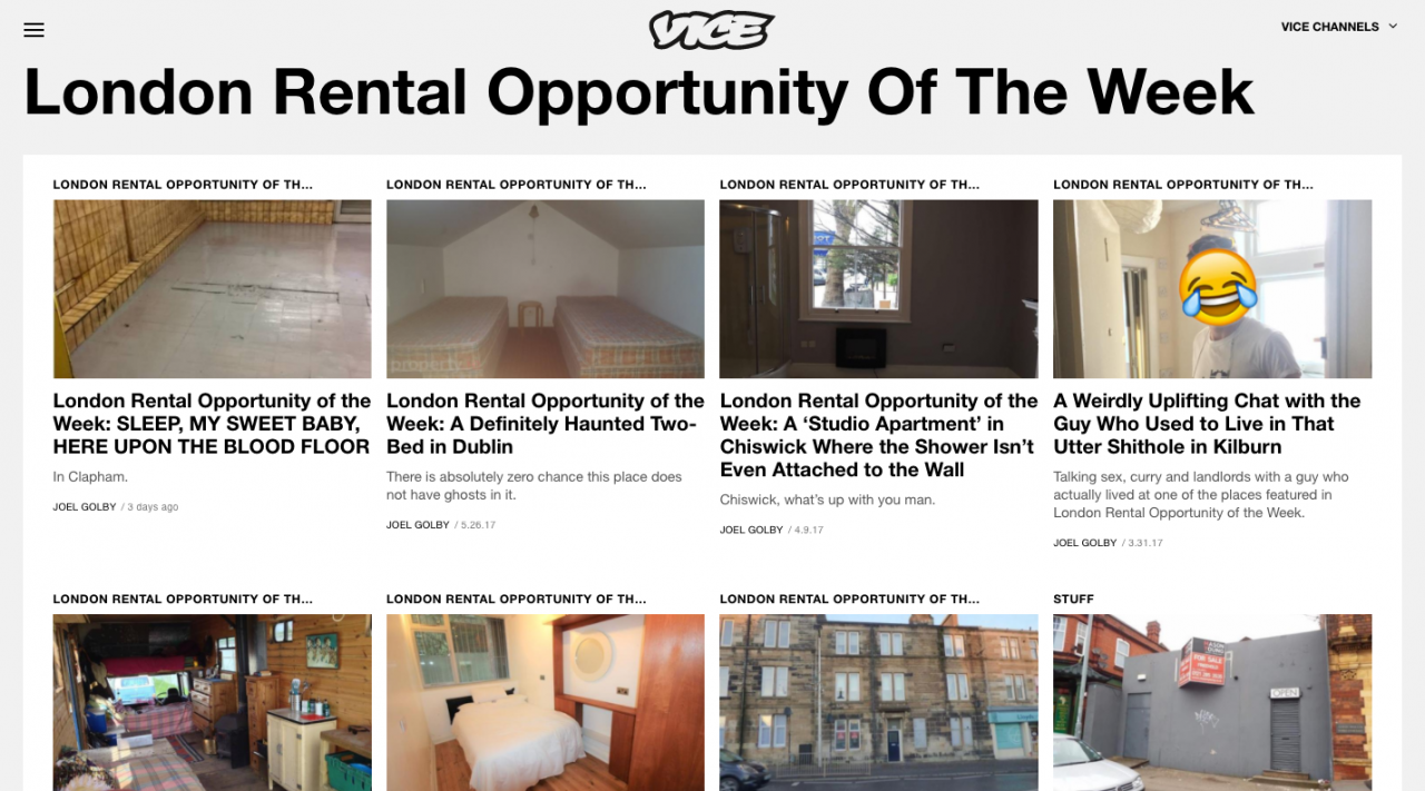 Vice London Rental Opportunity Of The Week