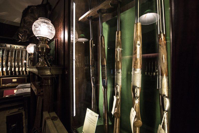 William Evans gun shop