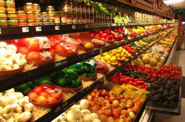 Plastic free supermarket
