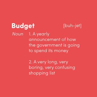 What actually is the Budget