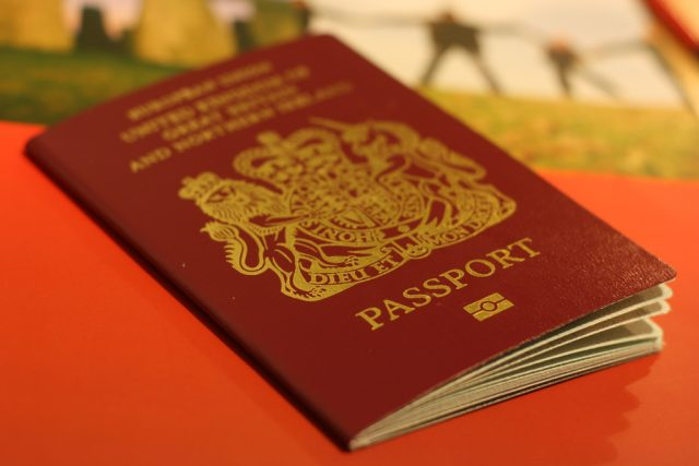 UK passports Brexit