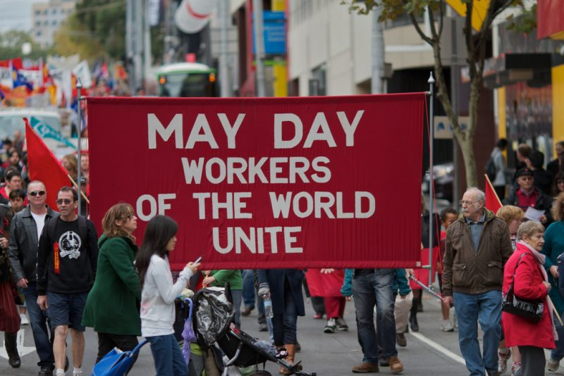 May Day – protests