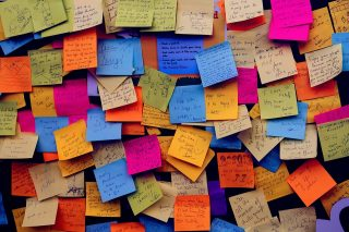 Post It Notes Notice Board Sticky Notes Note