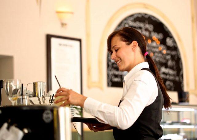 Waitress The Waiter Restaurant Coffee Café