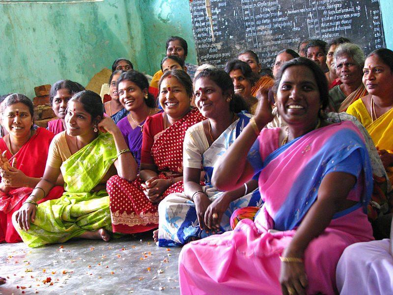 indian women laughing