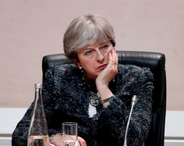 theresa may fed up