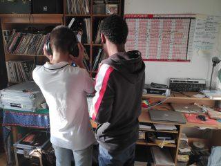 Amir & Thanh DJing