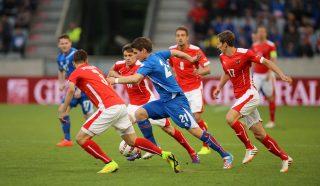 2014-05-30_Austria_-_Iceland_football_match,_Viðar_Kjartansson_0198